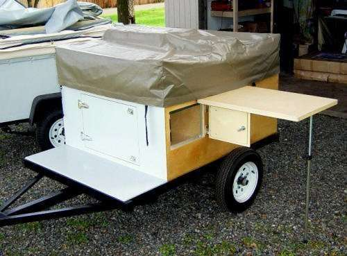 Side table Kit from Compact Camping Trailers