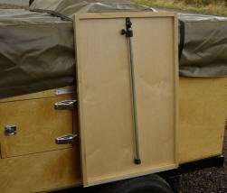 Trailer Side Table Kit Compact Camping Trailers