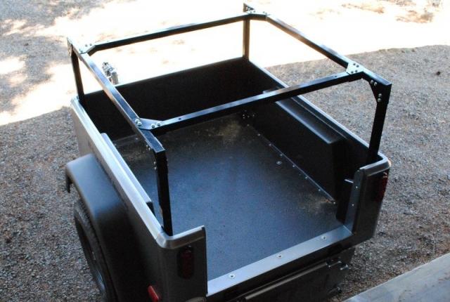 Compact Camping Trailers - trailer racks diy no weld trailer racks