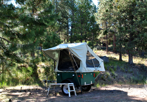 Compact Camping Trailers - M.O.A.B Tent Exclusively made the USA!