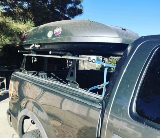 Compact Camping Trailers - Pickup Truck Rack by Compact Camping Trailers