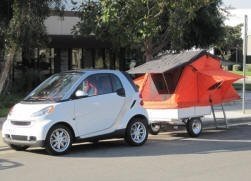 Compact Camping Trailers - Roof Top Tent on Compact Camping Trailer Smart Car