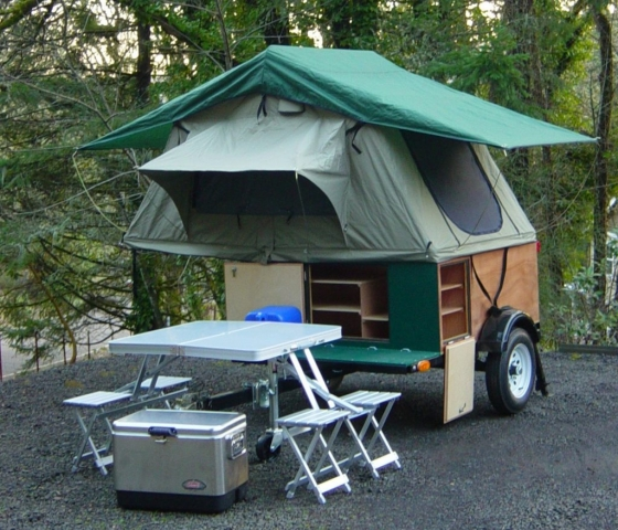 Compact Camping Trailers - Explorer Box Compact camping trailer