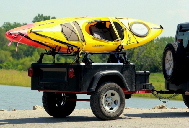 kayak trailer M416 style military trailer kit