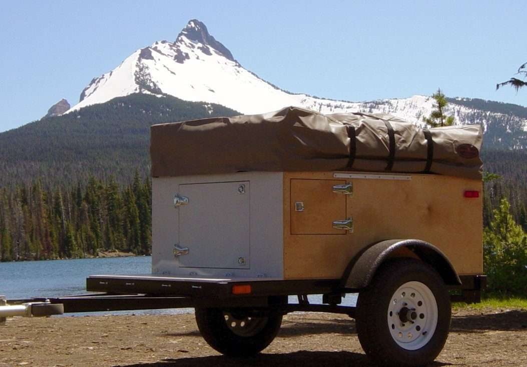 Compact Camping Trailers - Explorer Box Construction Manual Build at home