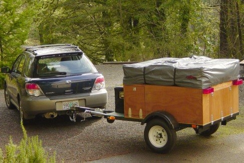 Compact Camping Trailer Explorer Box Construction Manual