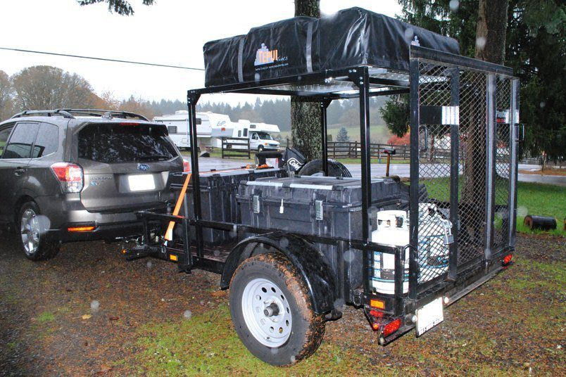 Compact Camping Trailers - Trailer Pickup Truck Bed Racks