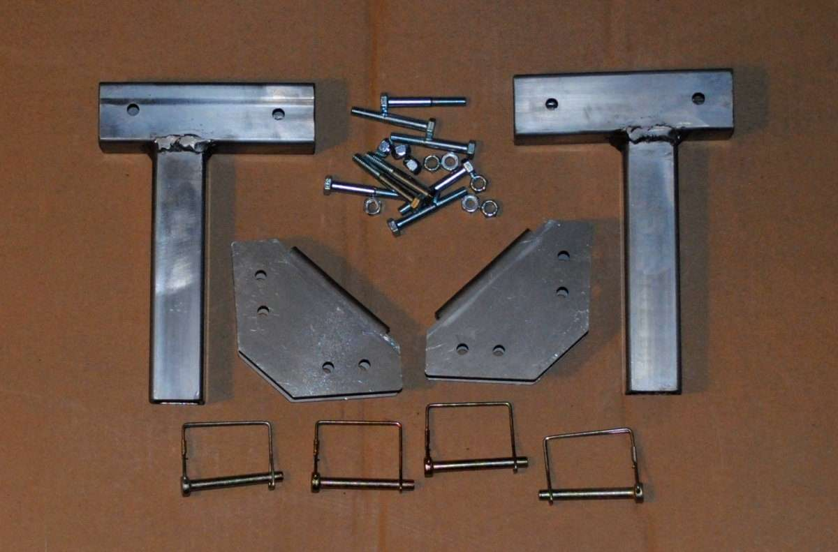 Compact Camping Trailer Awning Bracket