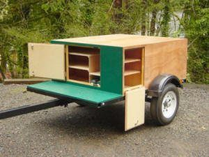 Custom Trailer Explorer Box Compact Camping Trailer