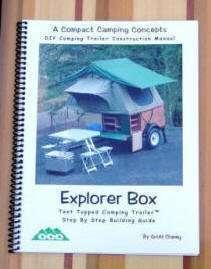 Compact Camping Trailer Explorer Box Construction Manual