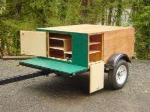 Explorer Box by Compact Camping Trailers Compartments