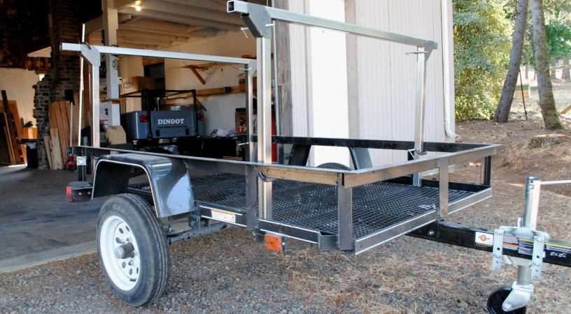 Trailer Rack Steel Tubing Compact Camping