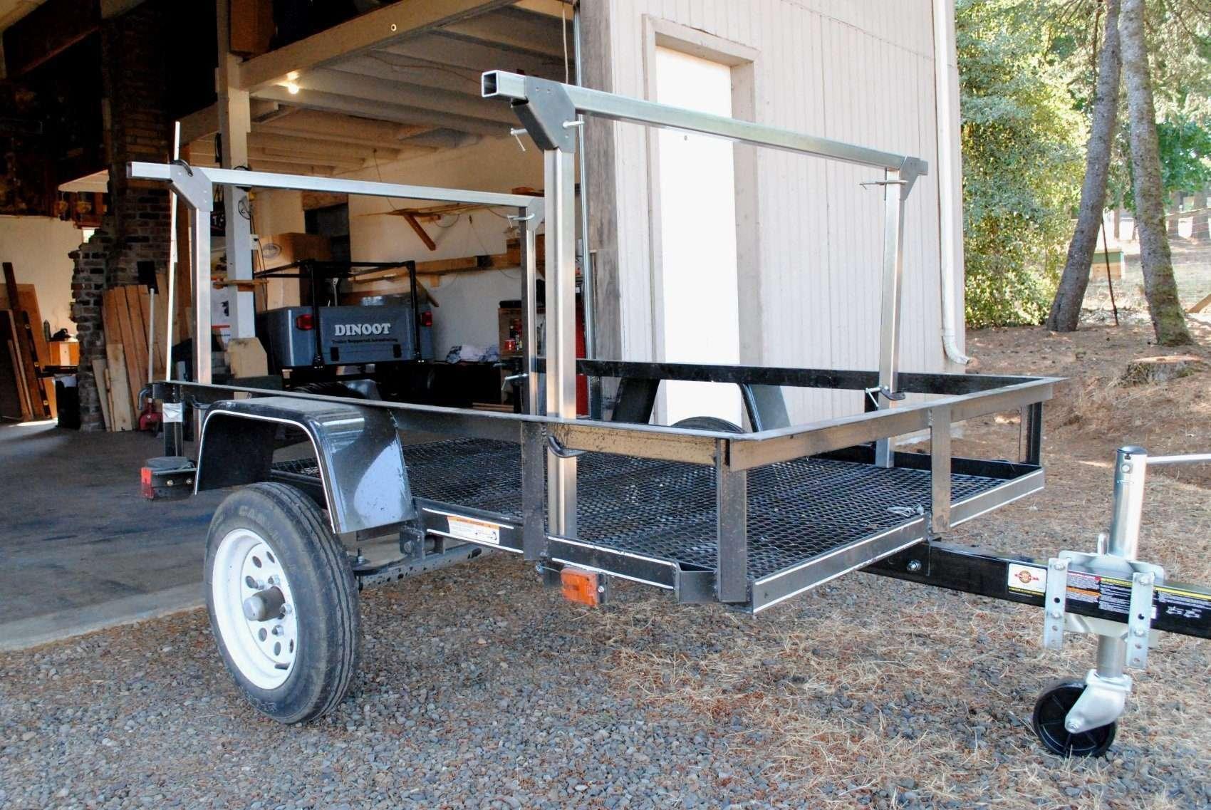 Trailer Rack No Weld Steel Tubing 1