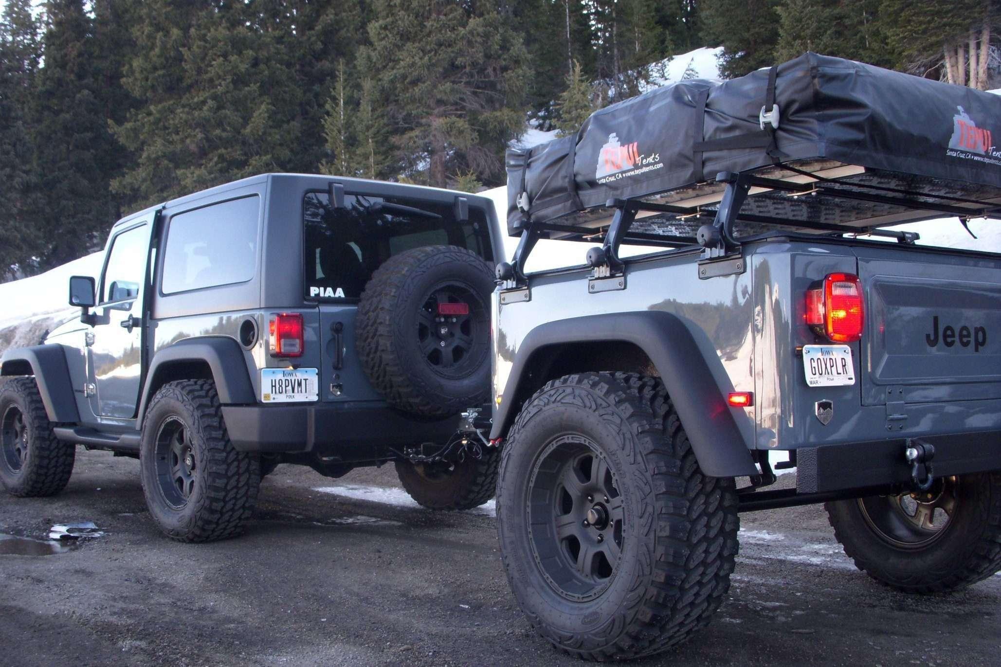Jeep Trailer Customer Matching Rig