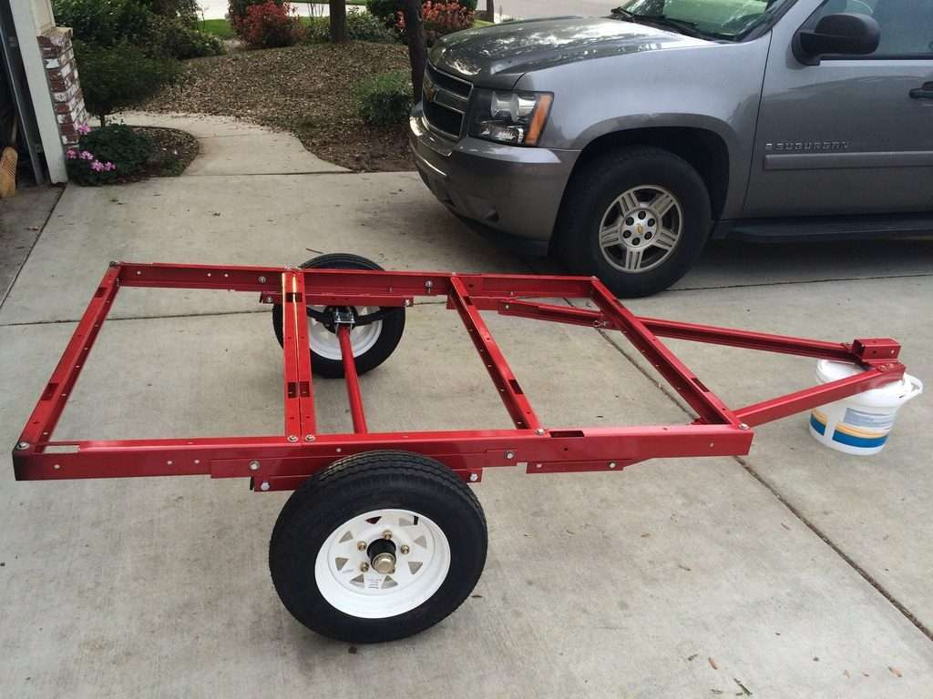 Harbor Freight Frame Compact Camping Trailer