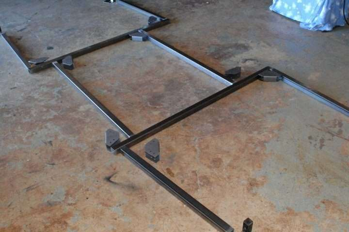 Trailer Rack No Weld Brackets and Tubing How To