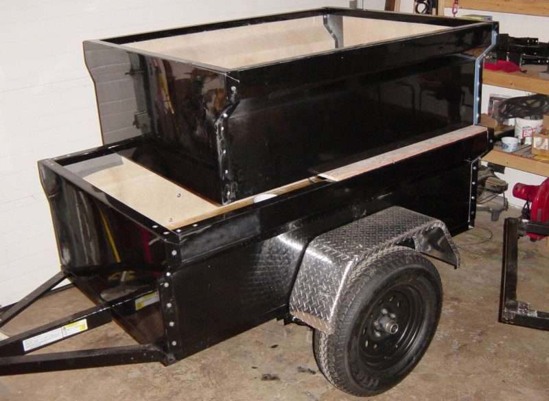 M416 Trailer Tub Kits in Different Sizes