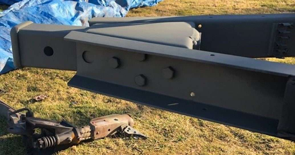 M416 Trailer Receiver Retrofit