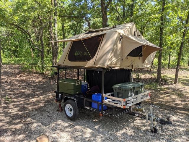 Trailer Rack RTT and Camping Trailer Rack