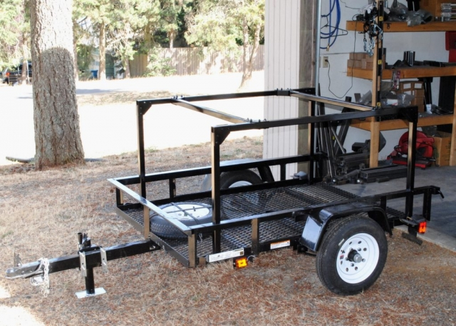 Trailer Rack No Weld Built to Order by Dinoot Racks