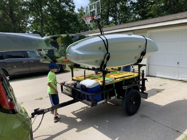 Kayak Trailer Rack Dinoot Racks