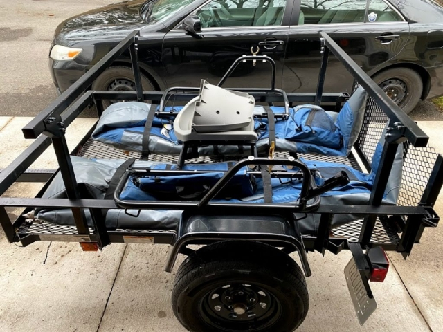 Trailer Rack No Weld for Toys