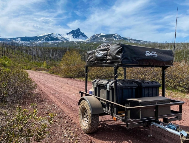 Trailer Rack for Roof Top Tent