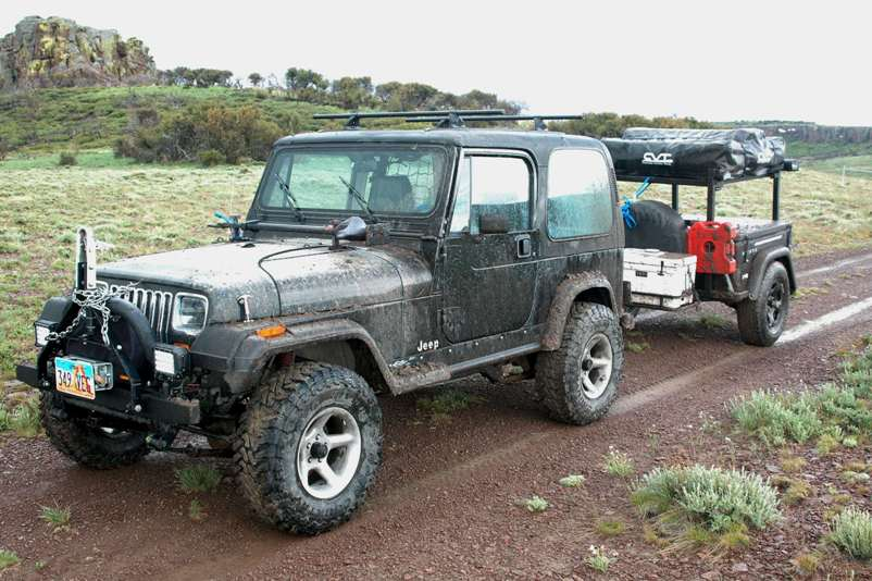 Jeep Trailer Customer Build 1